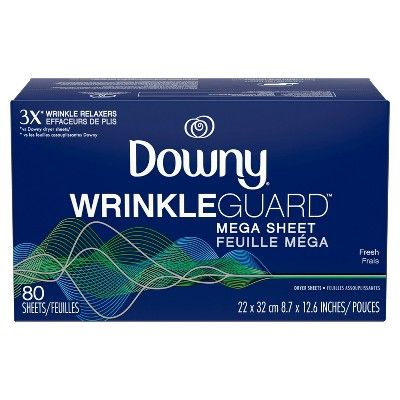 Downy Wrinkleguard Dryer Sheets Fresh 80ct With Images