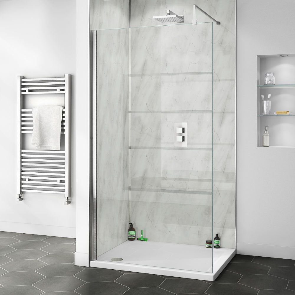 orion grey marble 2400x1000x10mm pvc shower wall panel on shower wall panels id=46400