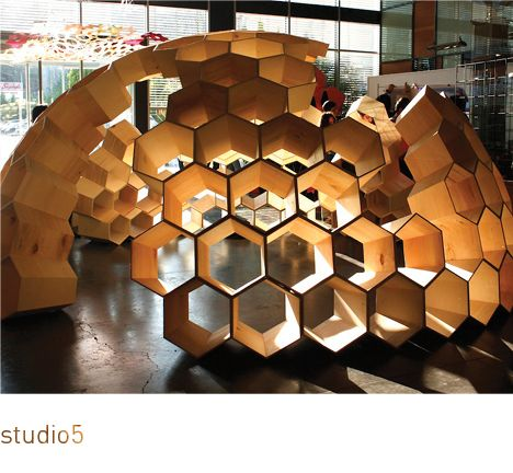 Suckerpunch James And The Giant Peach Hexagonal Architecture Pavilion Architecture Geodesic Dome