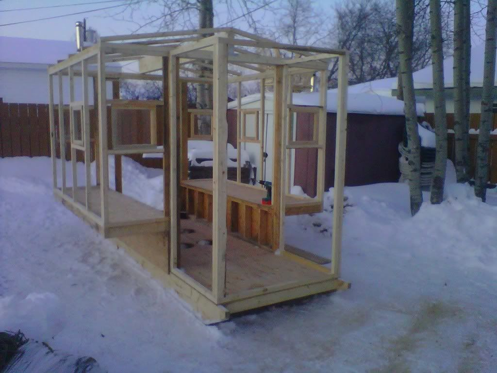 My Ice Shack updated pics | Ice shack | Pinterest | Ice ...
