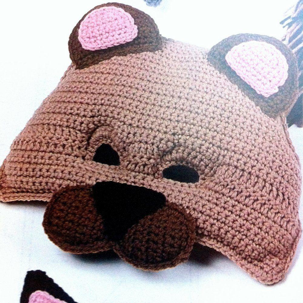 Crochet bear mask pattern craft crochet knit tatting crochet bear mask pattern bankloansurffo Image collections