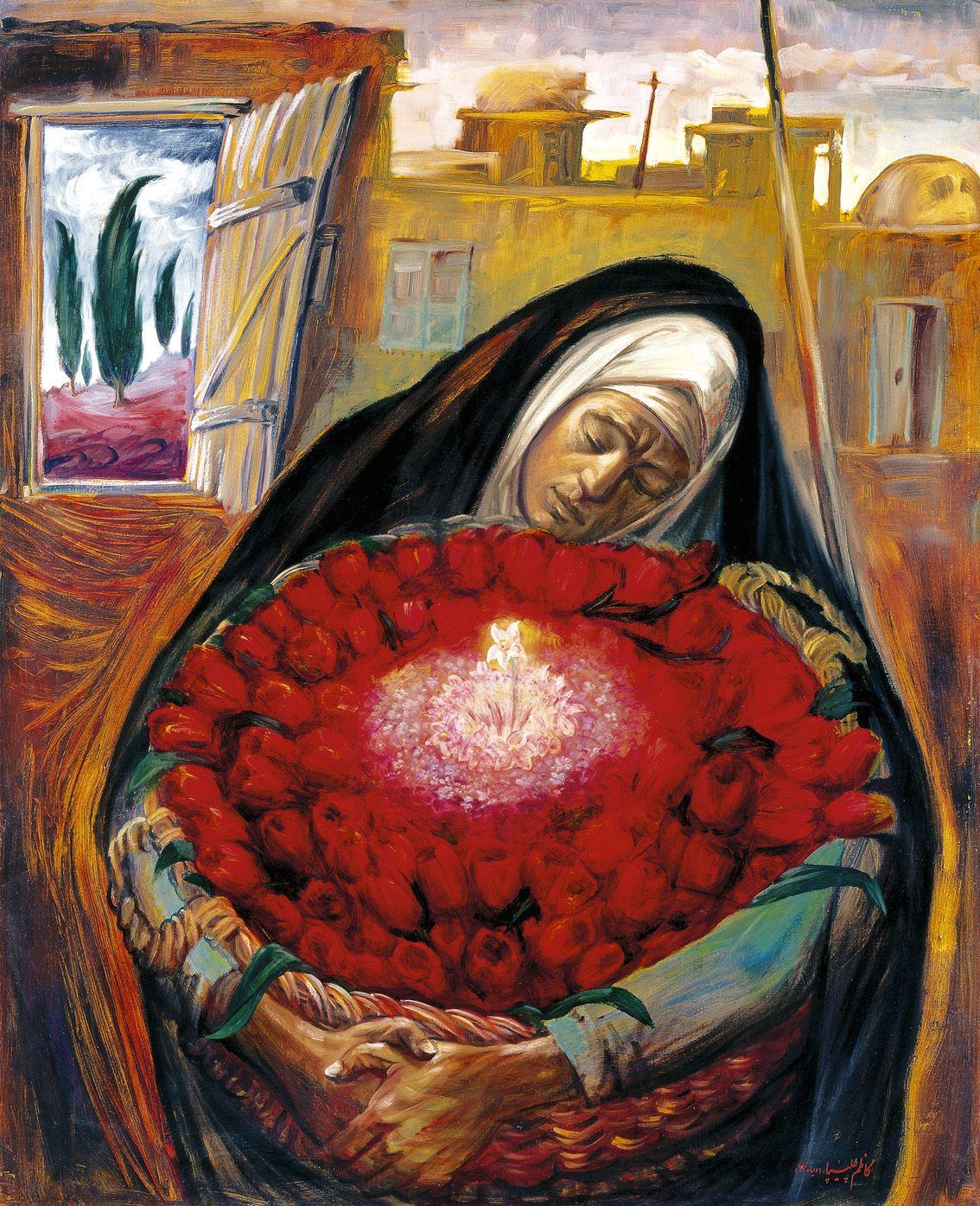 иран в картинах художников сочных
