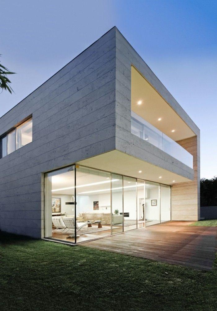 56 Ausgefallene Ideen Fur Moderne Fassaden Archzine Net Moderne Hausfassaden Architektur Haus Hausfassade