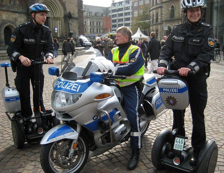 Police de Brème Allemagne Police