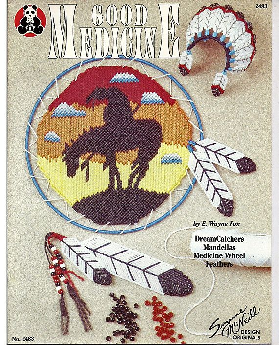 Southwestern Accents   ~  plastic canvas pattern