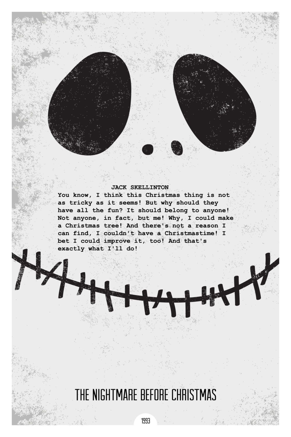 The nightmare before Christmas | Must be printed | Things that make ...
