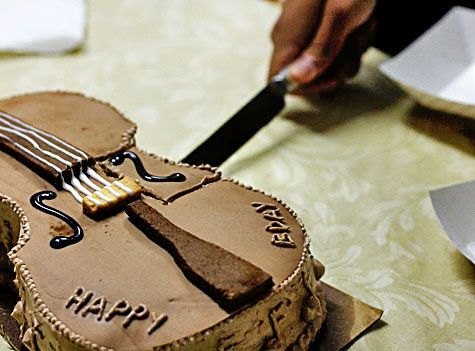 Cello Birthday Cake 17 and Baking Cake Inspirations