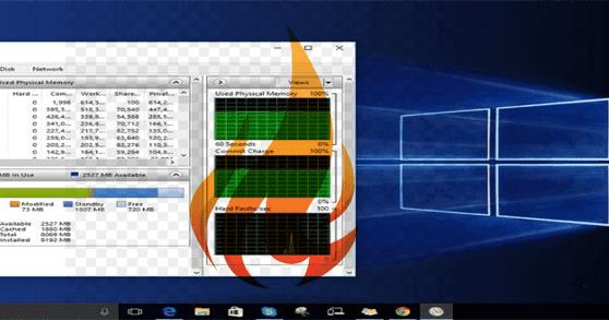 طرق إصلاح مشكل ارتفاع استهلاك نظام للرامات Ram و المعالج Cpu على ويندوز 10 Windows 10 Windows 10 Things
