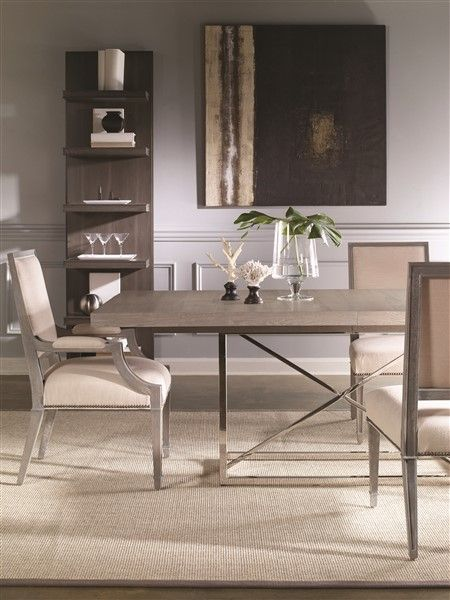 Vanguard Furniture - Our Products - W759T-VO Burroughs Dining Table ...