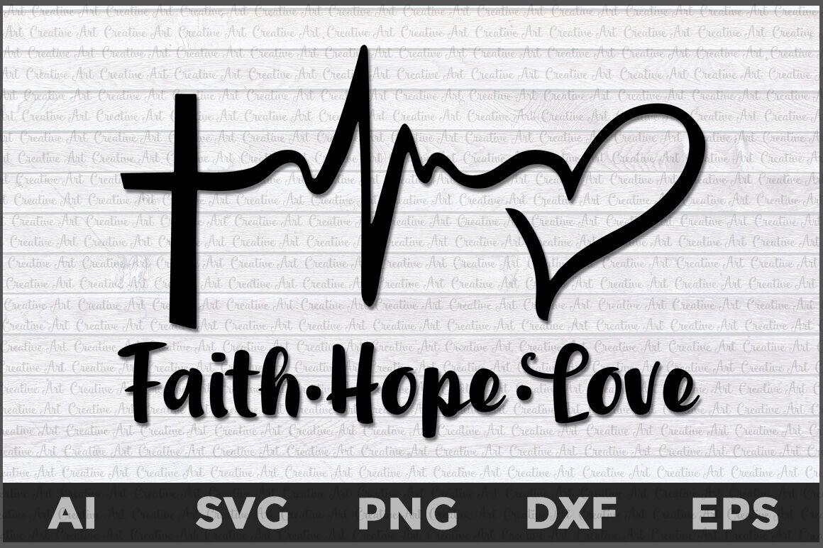 Download Heartbeat With Heart Svg Free / Faith Hope Love Heartbeat ...