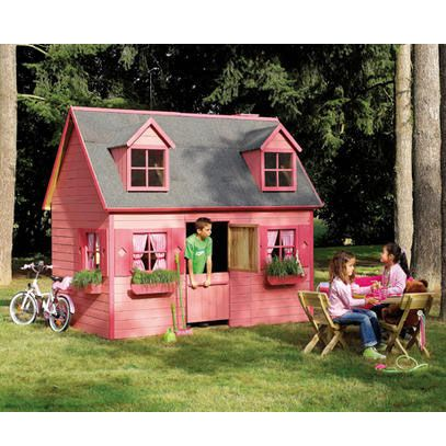 maisonnette en bois cerland rosalie bricolage playhouses and tiny houses. Black Bedroom Furniture Sets. Home Design Ideas