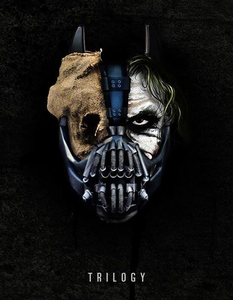 How Good Is This Picture Scarecrow Joker Bane And Batman All