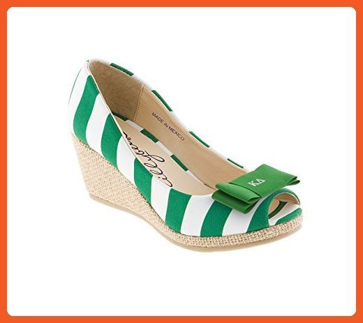 ba7bf25348f4f Kappa Delta Wedges and Kappa Delta Bow - Sandals for women ( Amazon  Partner-Link)