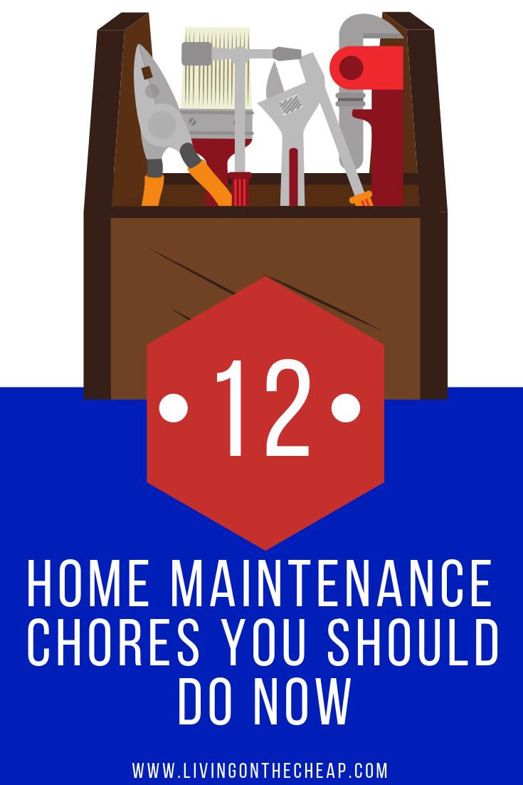 Photo of 12 Hausarbeiten, die Sie jetzt erledigen sollten – Living On The Cheap