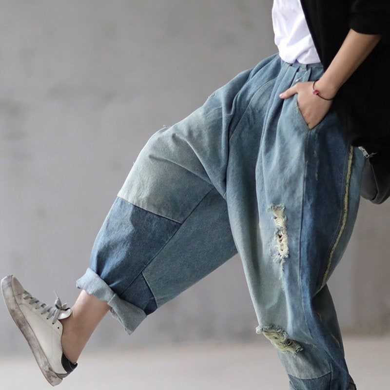 Denim Couture Tribal Capris