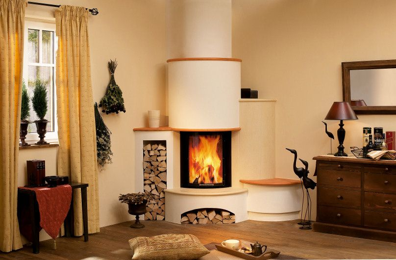 1 kamin in landhausstil mit keramik verkleidung kamin in 2019. Black Bedroom Furniture Sets. Home Design Ideas