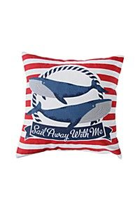 SAIL AWAY WITH ME 45X45CM SCATTER CUSHION COVER