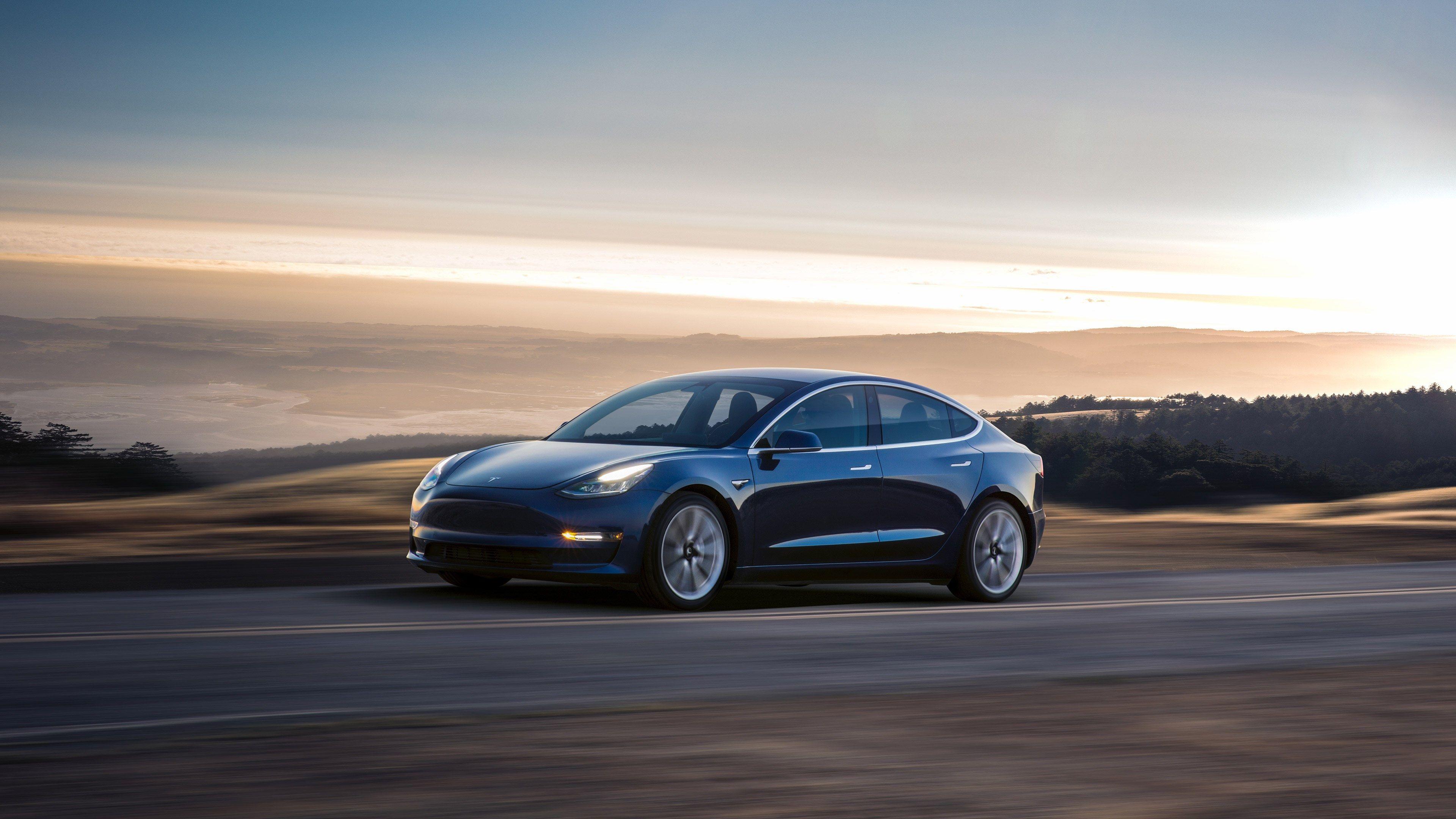 3840x2160 Tesla Model 3 4k Wallpaper Hd Backgrounds Images Tesla Model Tesla Model S Tesla