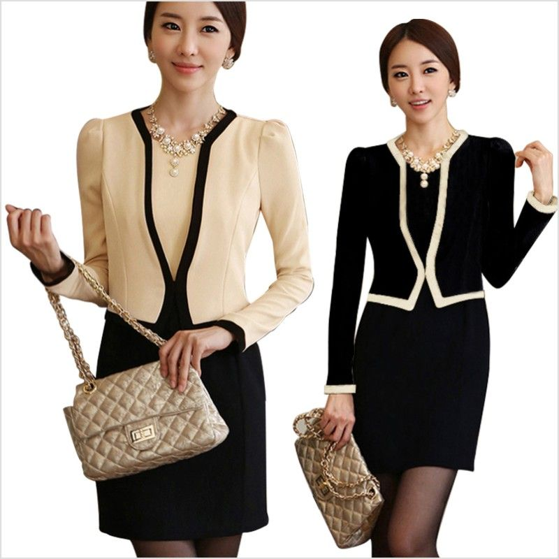 Business Skirt Suits for Women | Wear women's skirt suit new ...