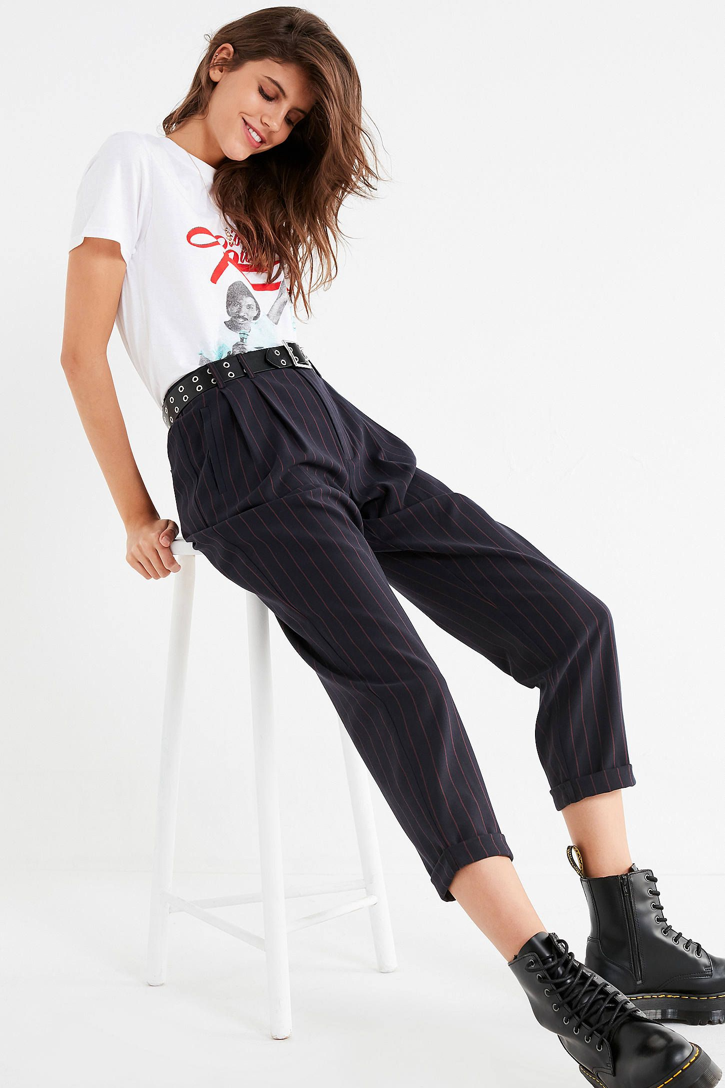 4d808d8657c Shop Light Before Dark Pleated Plaid Pant at Urban Outfitters today. We  carry all the latest styles