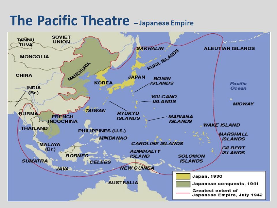 World Map Pacific