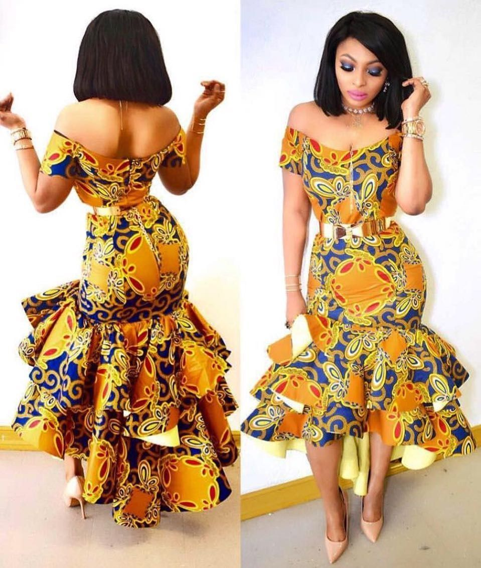 There are quite a few ways to enable yourself stand out with an Ankara fabric, Even if you are contemplating about what to make and slay with an Asoebi style. Nigerian Yoruba dress styles for parties arrive in a good many patterns and designs.   The African print styles beauty of this print is that it comes in many designs and textures. Ankara will permit you make a assent of any cloth without losing the Ankara designs flair. #nigeriandressstyles There are quite a few ways to enable yourself sta #nigeriandressstyles