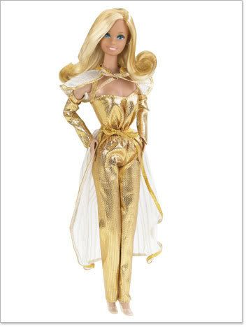 Barbie Golden Dreams Repro Nrfb Yet Not Vulgar Altro Bambole