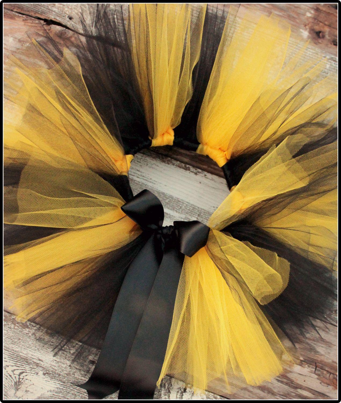 3c66dfd7ab Yellow and BlackTutu-Bumble bee tutus-Bee birthday-Bumble bee birthday  party-Bee Costume. $23.99, via Etsy.