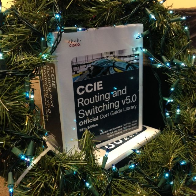 The perfect holiday gift: #CCIE Routing and Switching v5 0 Official