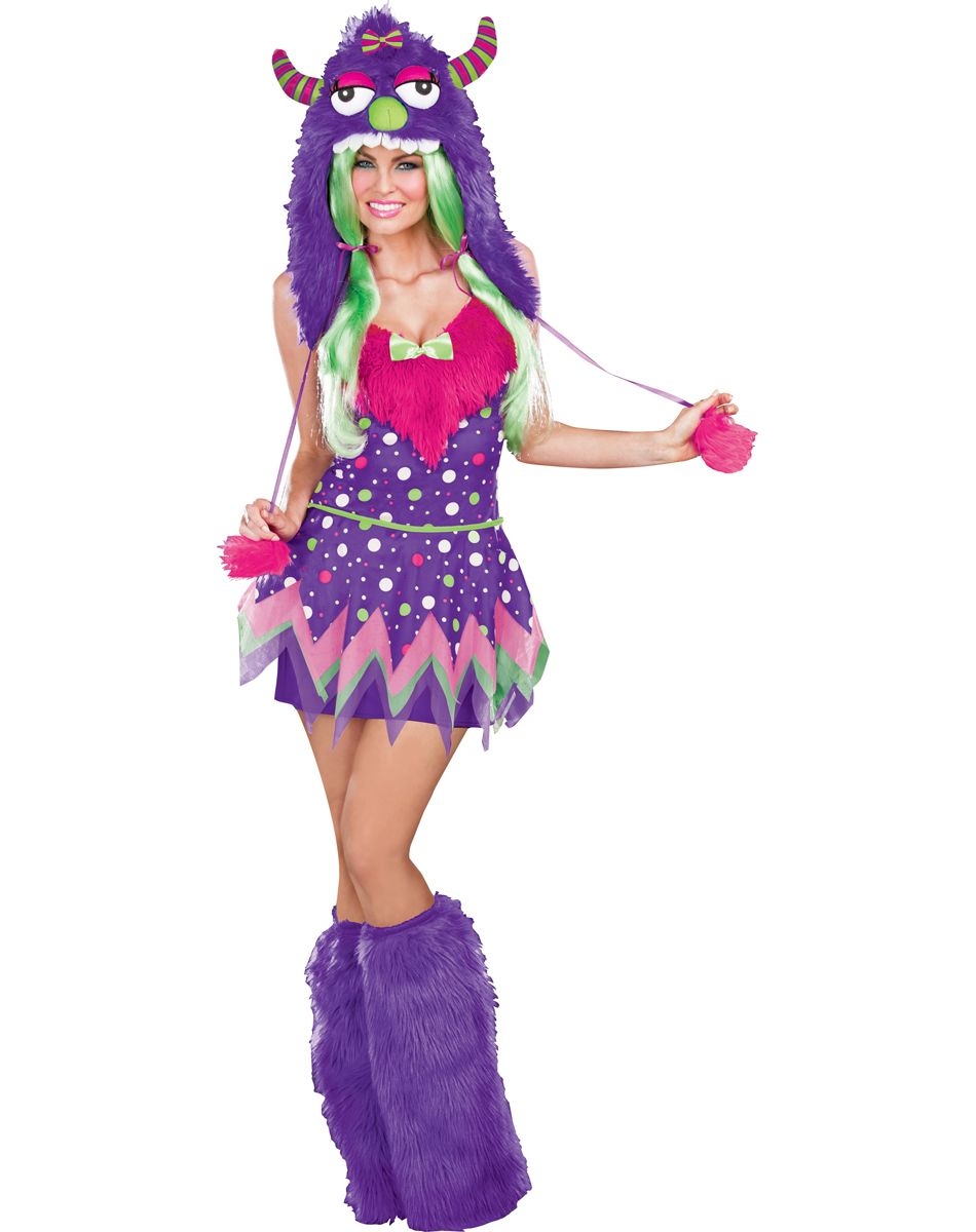 Monster Ball Adult Women\u0027s Costume exclusively at Spirit Halloween ,  Unleash mayhem among the men when