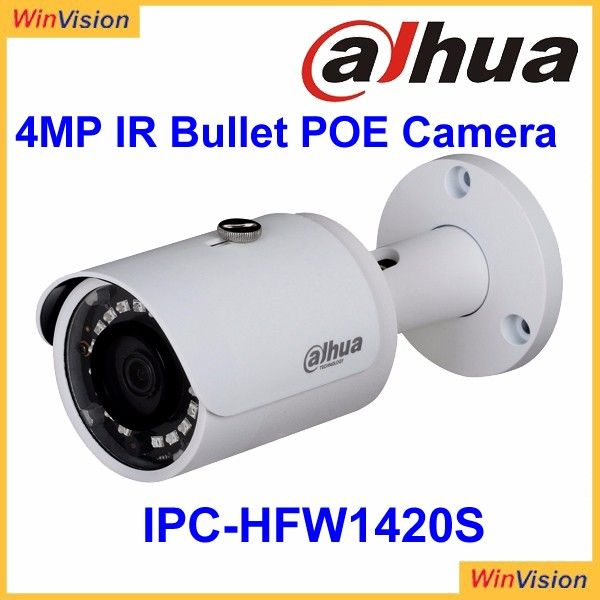 Dahua Ip Camera 4mp 12v Cmos Camera H 264 Compression Dahua P2p Ip Camera Ipc Hfw1420s Hot Selling Best Security Cameras Home Security Security Camera