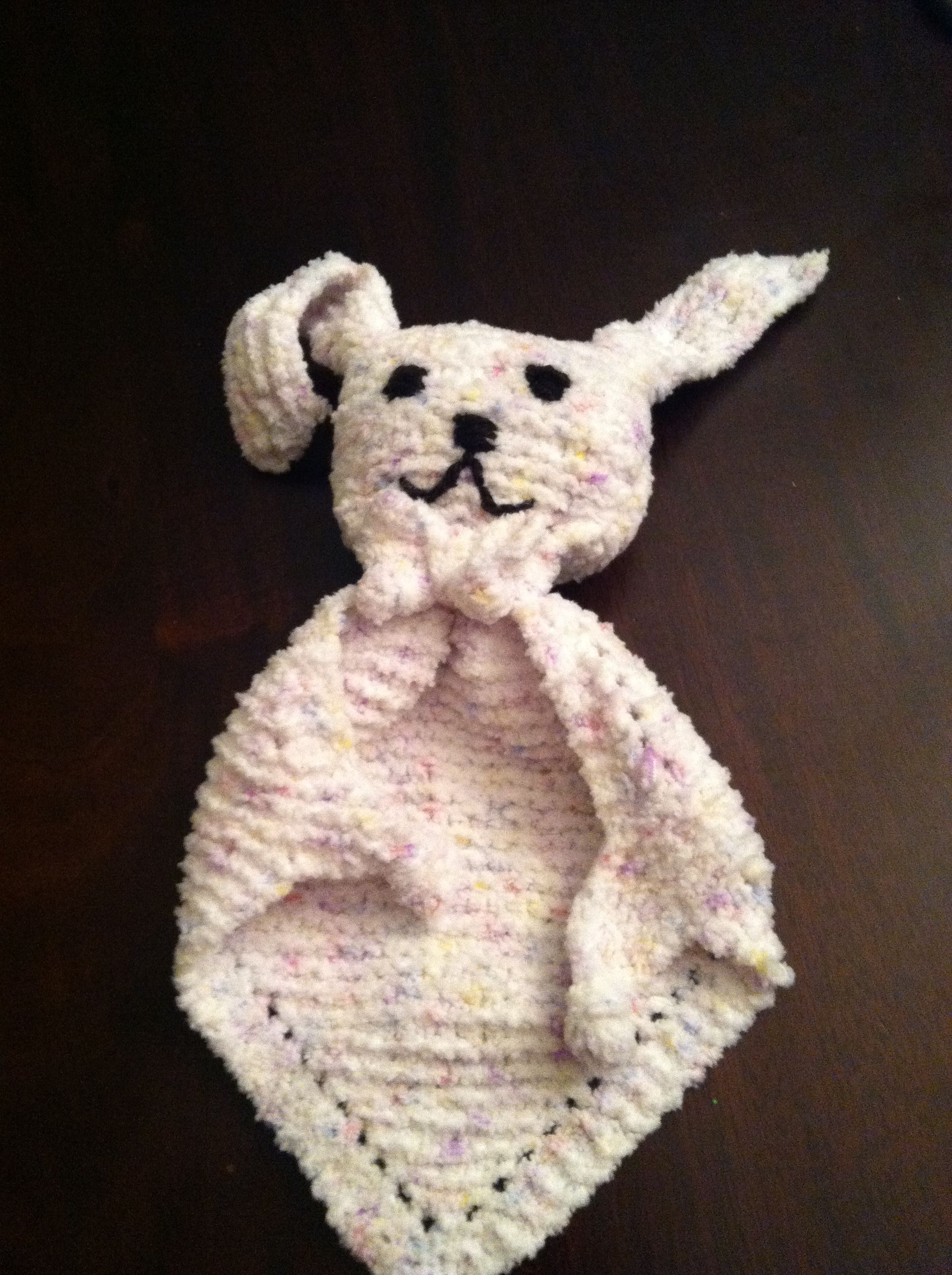 Bunny blanket buddy Just finished this! It's so cute ...