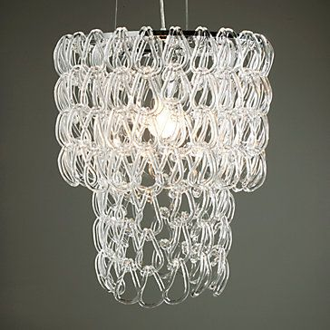 Love This Light Was Used In Colorsplash And The Glass Hooks Went To Table Height Stunning Modern Chandelier Chandelier Design Cool Chandeliers