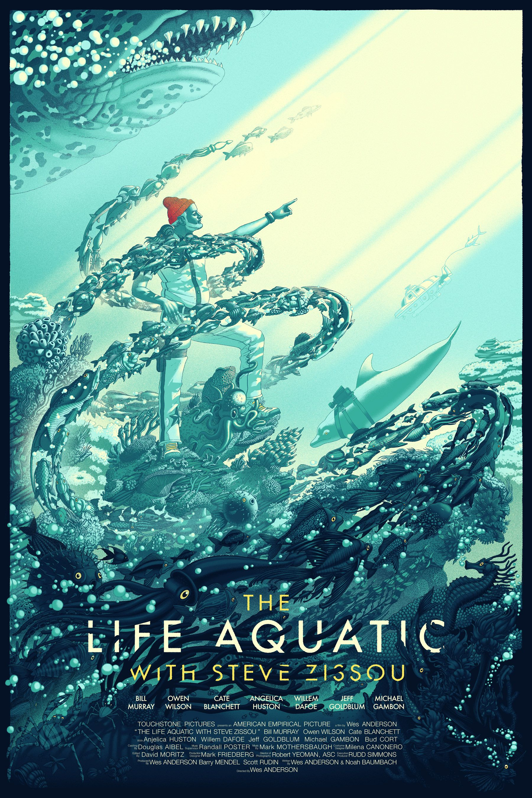 THE LIFE AQUATIC on Behance in 2019 | Life aquatic ...