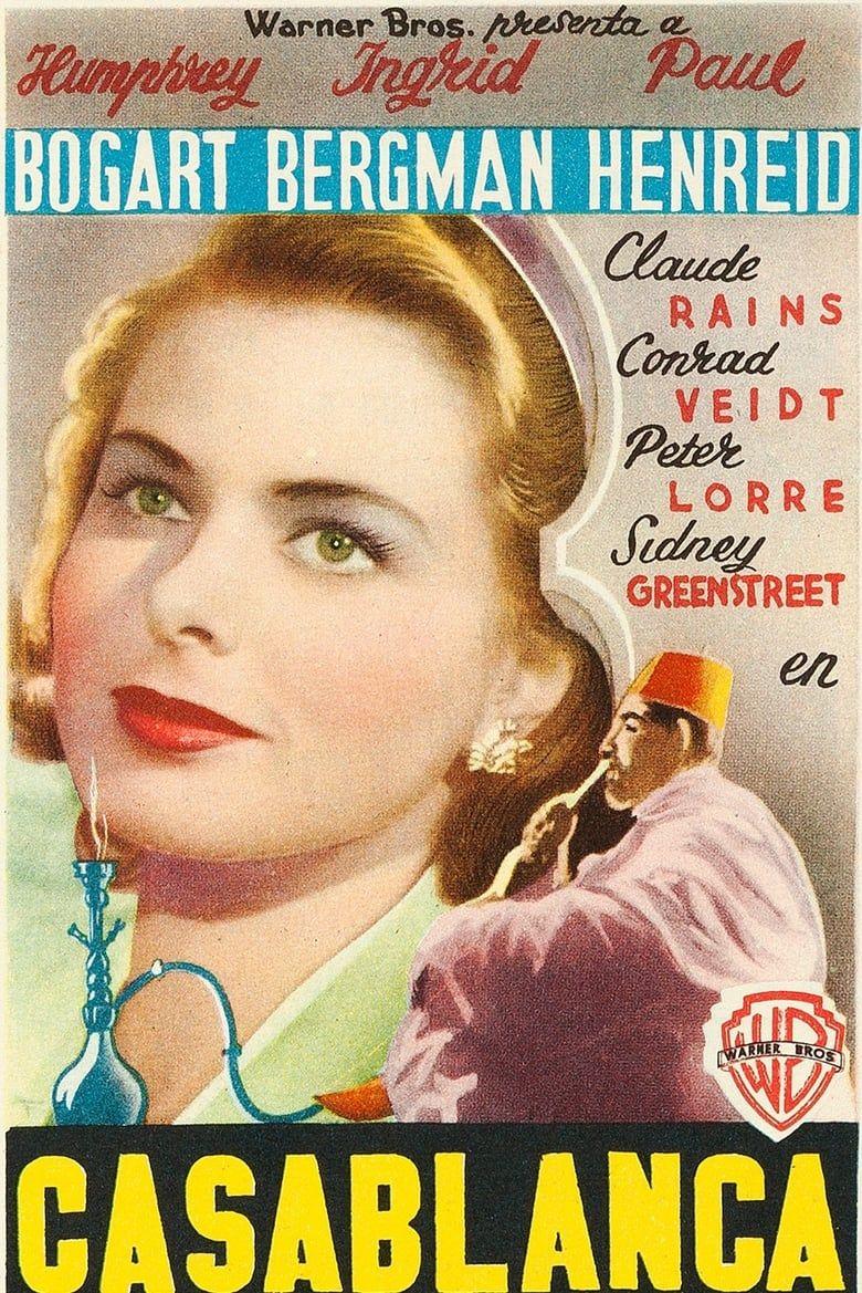 Telecharger Casablanca Streaming Fr Hd Gratuit Francais Complet Download Free English Casablanca Movie Casablanca Casablanca Ingrid Bergman Casablanca Movie