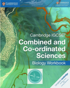 igcse combined and coordinated science workbook biology print