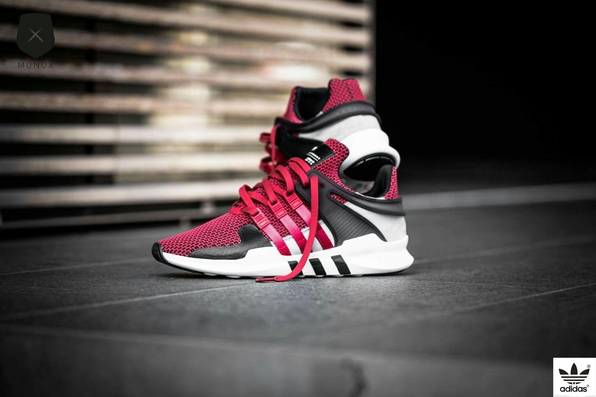 separation shoes 66c31 6270c Adidas Equipment Support ADV (Collegiate Red)   Celebrity ...