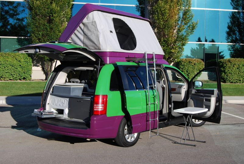 Town And Country Camper >> Brace Yourselves Behold The Jucy High End Conversion Motorhome