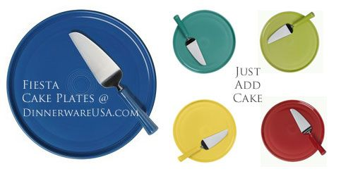 Fiesta Cake Plates - Fiesta adds the color you add the cake!   sc 1 st  Pinterest & Fiesta Cake Plates - Fiesta adds the color you add the cake! http ...