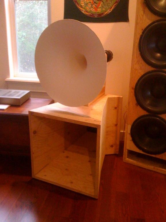 80hz Bass Horn Horns Horn Speakers Diy Speakers