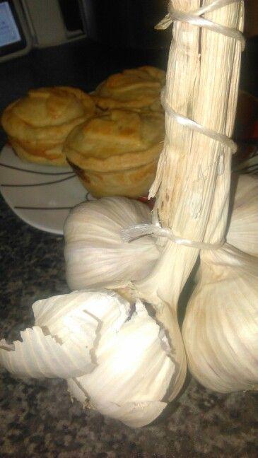Garlic n pie