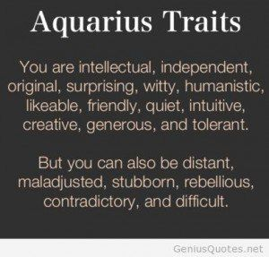 Aquarius Man Quotes  QuotesGram | Aquarius Facts