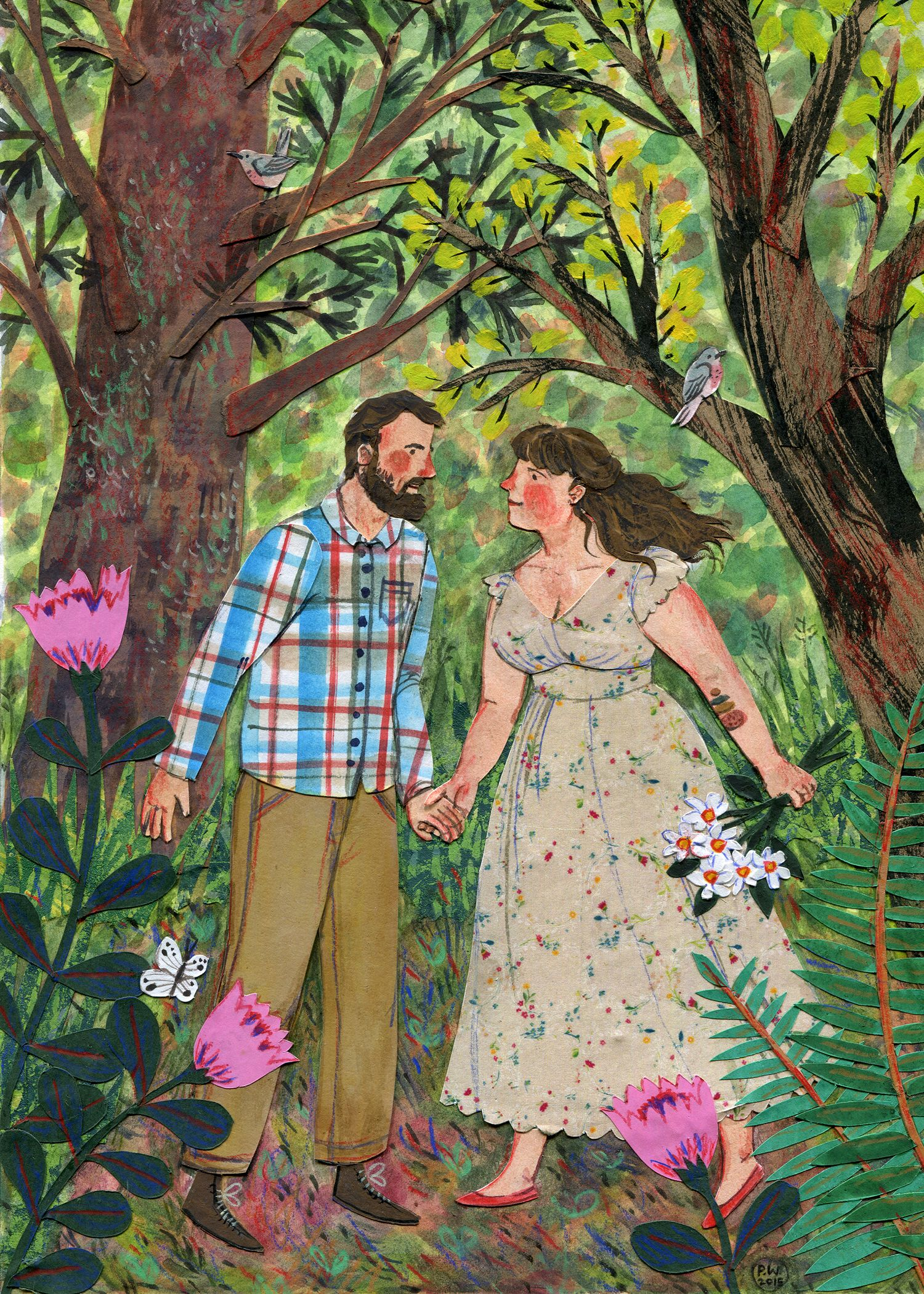 Morgan & Ian by Phoebe Wahl