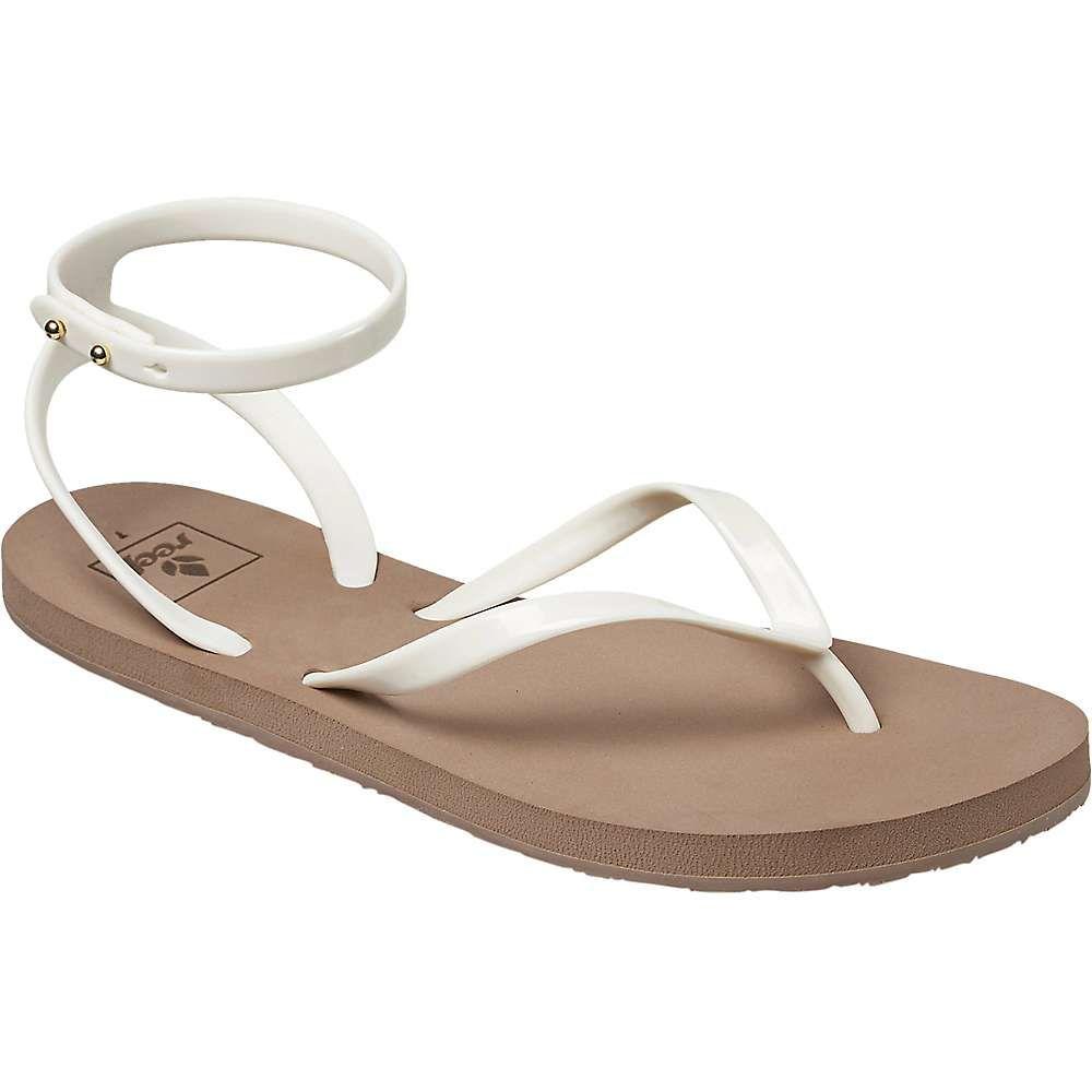 77d8743ce6113 Ankle Strap Flats · Reef Women s Stargazer Wrap Sandal - 10 - Taupe Grey