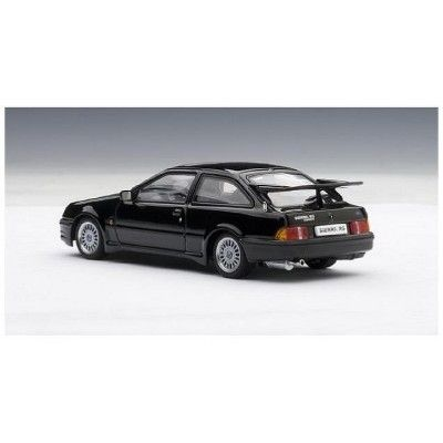 Ford Sierra Rs Cosworth Black 1 43 Diecast Model Car By Autoart