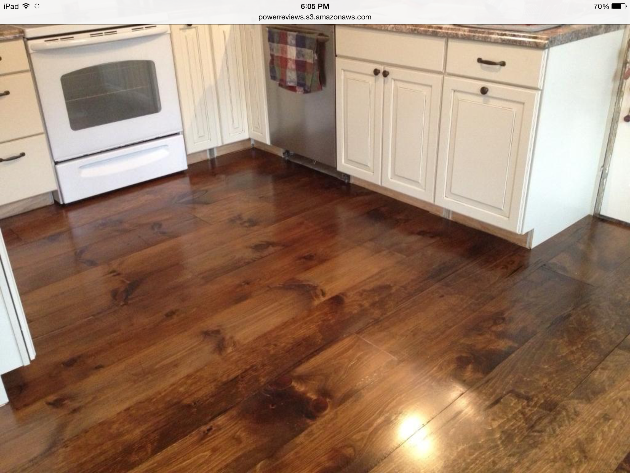 Wide Plank Laminate Flooring — Jen