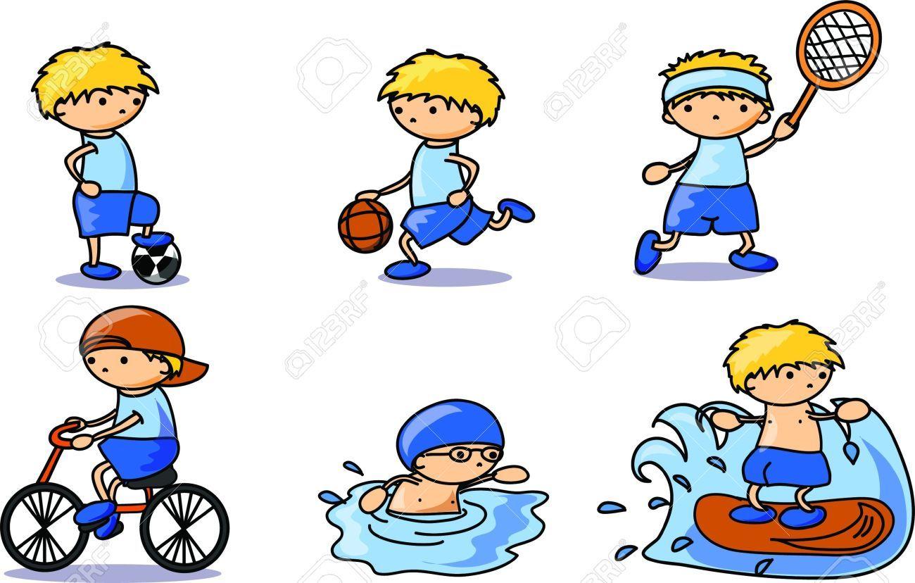 cartoon sports sport result characters background comics vault children google dibujos un clipartmag