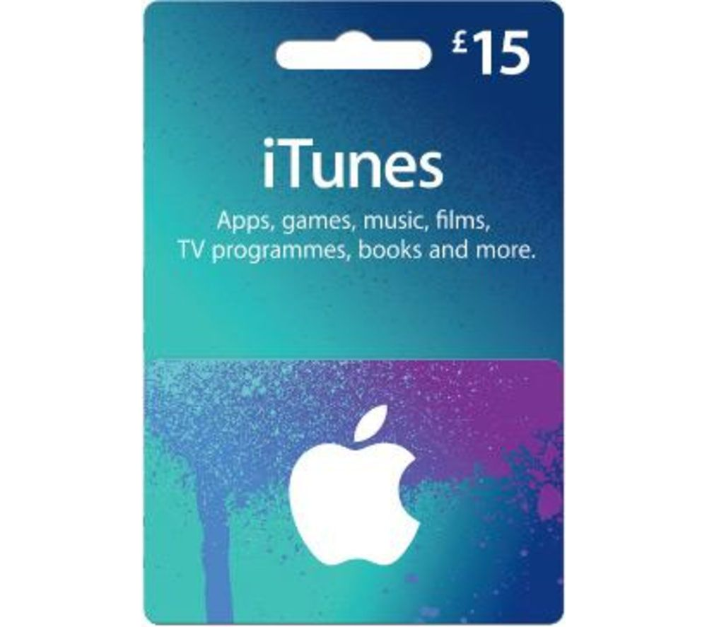 £15 App Store & iTunes Gift Card Itunes gift cards, Gift