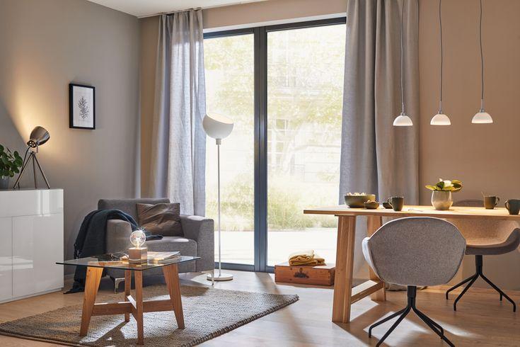 Da haben sich drei Leuchten über dem Esstisch eingependelt - licht ideen wohnzimmer