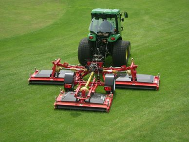 Progressive's new Tri-Deck Roller mower (TDR-15) is the